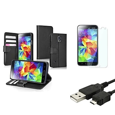 Insten® 1792515 3-Piece Cable Bundle For Samsung Galaxy S5/SV