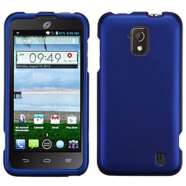 Insten® Protector Case For ZTE Z795G Solar, Titanium Solid Dark Blue