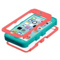 Insten® TUFF Hybrid Phone Protector Covers W/Diamonds F/iPhone 5C