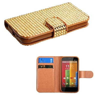 Insten® Book-Style MyJacket Wallets For Motorola G