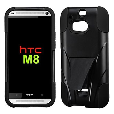 Insten® Advanced Armor Stand Protector Cases For HTC M8