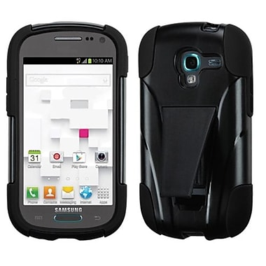 Insten® Advanced Armor Stand Protector Case For Samsung T599 Galaxy Exhibit, Black Inverse