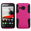 Insten® Astronoot Phone Protector Case For Alcatel 5020T, Hot-Pink/Black