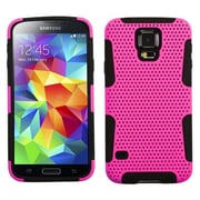 Insten® Astronoot Phone Protector Case For Samsung Galaxy S5, Hot-Pink/Black