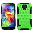 Insten® Astronoot Phone Protector Case For Samsung Galaxy S5, Green/Black