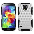Insten® Astronoot Phone Protector Case For Samsung Galaxy S5, White/Black