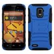 Insten® Advanced Armor Stand Protector Case For ZTE N9510 Warp 4G, Dark Blue/Black