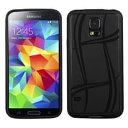 Insten® Candy Skin Case For Samsung Galaxy S5, Black Basketball Texture