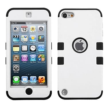 Insten® TUFF Hybrid Protector Cover F/iPod Touch 5th Gen, Ivory White/Black