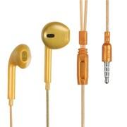 Insten® Stereo Handsfree Headset For ZTE N860, Gold