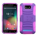 Insten® Advanced Armor Stand Protector Case For BLU D610a Studio 5.5, Purple/Electric Pink