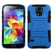 Insten® Advanced Armor Stand Protector Case For Samsung Galaxy S5, Dark Blue/Black