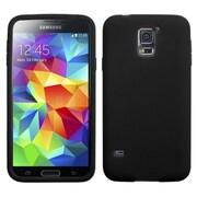 Insten® Solid Skin Case For Samsung Galaxy S5, Black