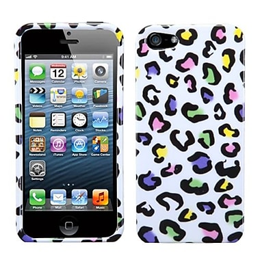 Insten® Phone Protector Cover F/iPhone 5/5S, Colorful Leopard