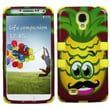 Insten® TUFF Hybrid Phone Protector Case For Samsung Galaxy S4, Pineapple/Yellow