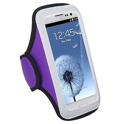 Insten Vertical Pouch Universal Armband For ZTE N9500\/N9120, Purple