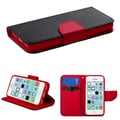 Insten® MyJacket Wallet Cases W/Card Slot F/iPhone 5C