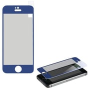 Insten® Tempered Glass Screen Protector For iPhone 4S, Blue