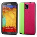 Insten® Candy Skin Covers With Leather Backing For Samsung Galaxy Note 3
