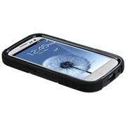 Insten® Hybrid Protector Case For Samsung Galaxy SIII, Natural Black/Black Goalkeeper