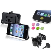 Insten® 1901398 3-Piece iPhone Mount Bundle For Apple iPhone 4/4S/Cell Phone, PDA, GPS, MP3, MP4