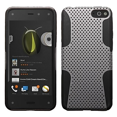 Insten® Protector Cover For Amazon Fire, Gray/Black Astronoot