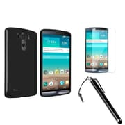 Insten® 1908546 3-Piece Screen Protector Bundle For LG G3 D855
