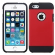 Insten® Astronoot Phone Protector Cover F/iPhone 5/5/5SC, Red/Black