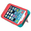Insten® TUFF Hybrid Phone Protector Cover W/Stand F/iPhone 5/5S, Natural Baby Red/Tropical Teal