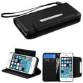 Insten® MyJacket Wallet Cases F/iPhone 5/5S