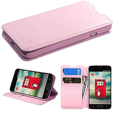Insten® MyJacket Wallet For LG MS323/VS450PP, Pink