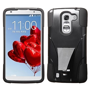 Insten® Advanced Armor Stand Protector Covers For LG D838 G Pro 2