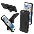 Insten® Rubberized Protector Covers W/Car Armor Stand F/4.7in. iPhone 6