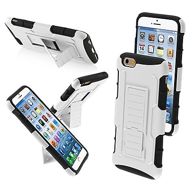 Insten® Rubberized Protector Cover W/Car Armor Stand F/4.7