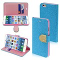 Insten® Glittering MyJacket Wallet Cases W/Diamante Belt F/4.7in. iPhone 6