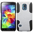 Insten® Astronoot Phone Protector Cover For Samsung S5 Mini, White/Black