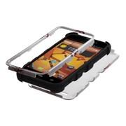 Insten® TUFF Hybrid Protector Cover For ZTE N9510 Warp 4G, Black Baseball