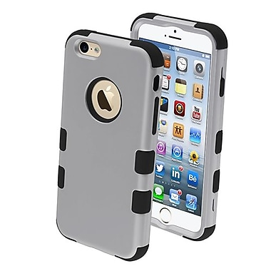 Insten® TUFF Hybrid Rubberized Phone Protector Cover F/4.7