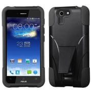 Insten® Inverse Advanced Armor Stand Protector Cover For Asus PadFone X, Black