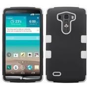 Insten® TUFF Hybrid Phone Protector Cover For LG G3, Black/Solid White