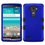 Insten® TUFF Hybrid Phone Protector Cover For LG G3, Titanium Dark Blue/Black