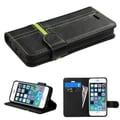 Insten® Male MyJacket Wallet Cases F/iPhone 5/5S