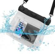 Insten® Large Sized Waterproof Bag W/Shoulder Strap, Clear