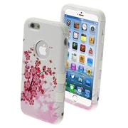 "Insten® TUFF Hybrid Phone Protector Cover F/4.7"" iPhone 6, Spring Flowers/Solid White"