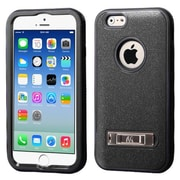 """Insten® VERGE Hybrid Protector Cover W/Stand F/4.7"""" iPhone 6, Natural Black/Black"""
