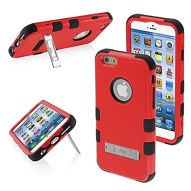 Insten® TUFF Hybrid Phone Protector Cover W/Stand For 4.7