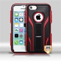 Insten® TUFF Extreme Hybrid Protector Covers F/iPhone 5C