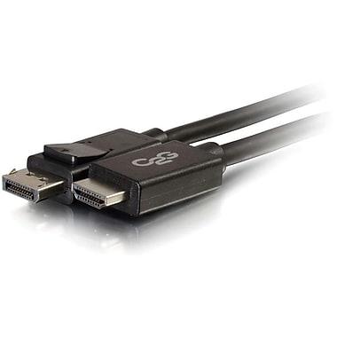C2G – Câble DisplayPort mâle vers HDMI mâle, 6 pi, noir (54326)
