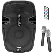 PYLE - PRO SOUND PPHP159WMU Bluetooth PA Loudspeaker with 2 Wireless Mics