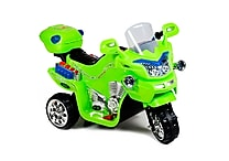 Lil Rider Plastic 3 Wheel Battery Powered Bike, Green